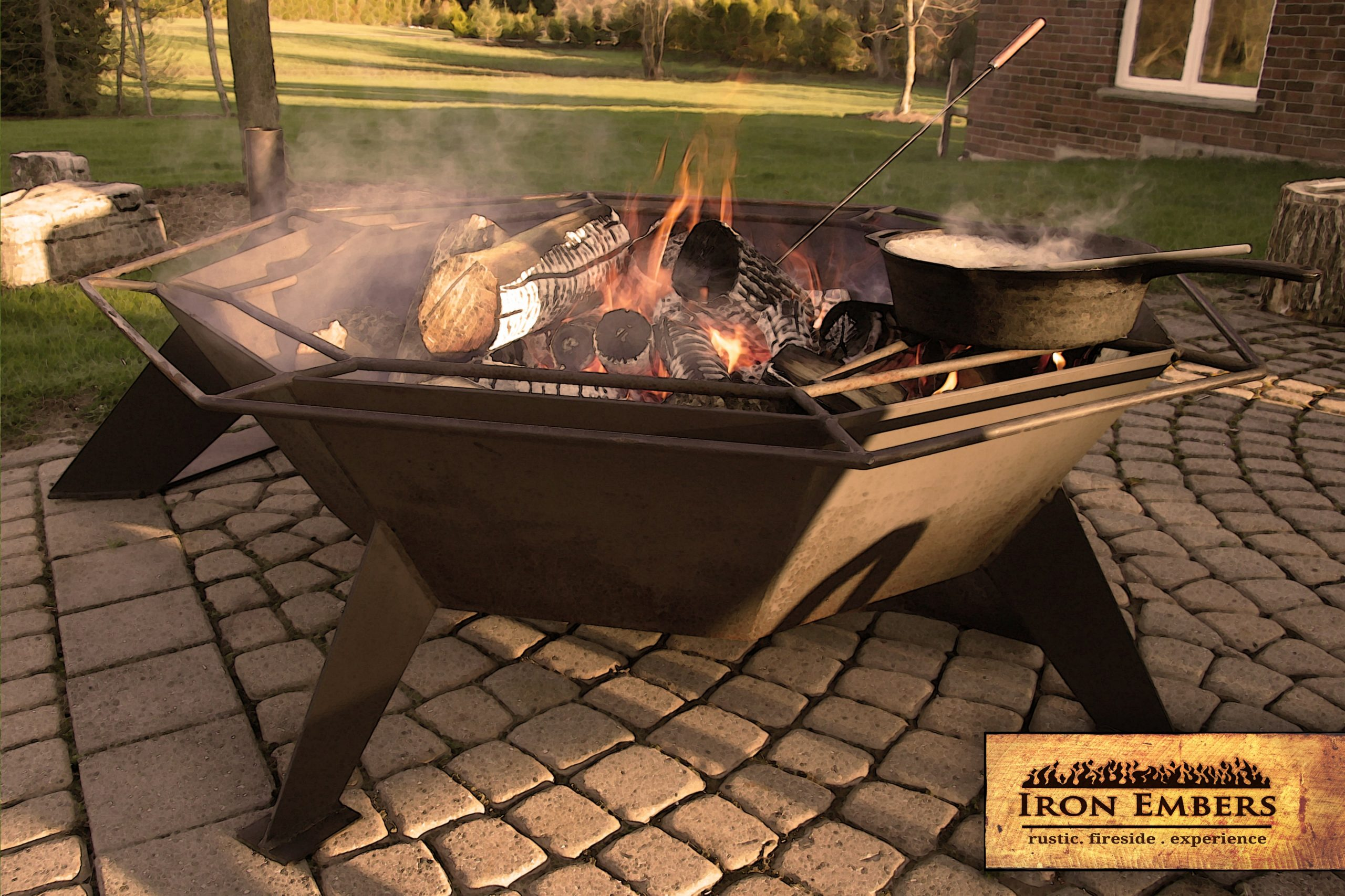 4′ Octagonal Cottager Fire Pit Copy